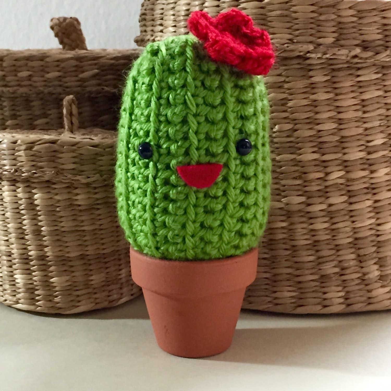 Amigurumi Cactus And Flower Crochet Pattern : Cactus Amigurumi Crochet