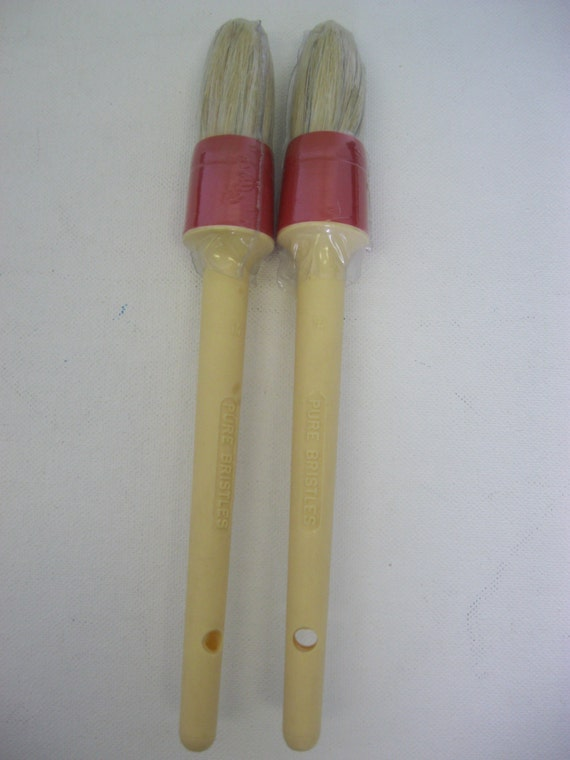 2 paint brush 100 pure bristle round 14 brand new for Best paint brush brands