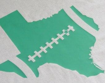 Baylor Football Shirt, Bears Football Shirt, Green Football Shirt, Waco Football Shirt, Football Shirt, Baylor Shirt