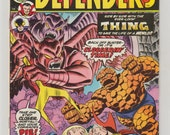 Defenders; Vol 1, 20 Bronze Age Comic Book. FN/VF. February 1975.  Marvel Comics
