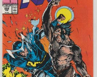 Uncanny X-Men; Vol 1, 258 Copper Age Comic Books. NM. February 1990.  Marvel Comics