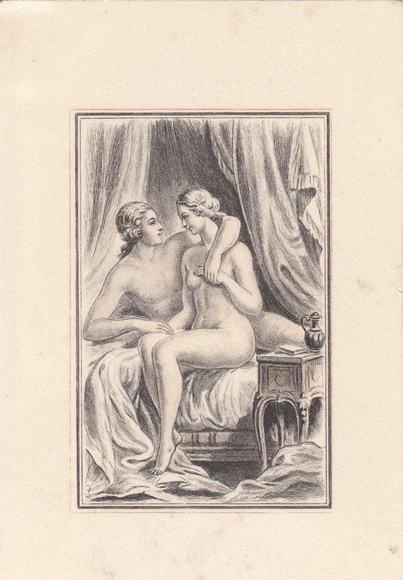 Vintage Erotic Drawing 85