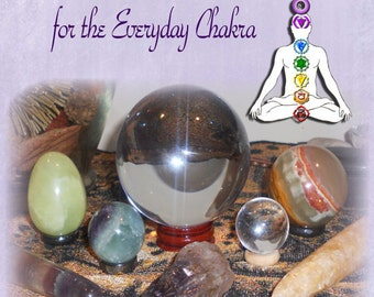 Common Sense Crystals for the Everyday Chakra. An easy how to book. PDF