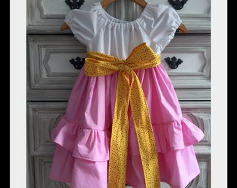 Fancy Nancy Inspired Dress, Fancy Nancy Inspired Costume, Tea Party Dress