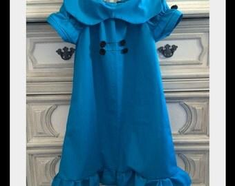 Lucy Van Pelt Inspired Costume, Lucy Van Pelt Inspired Dress, Peanuts Inspired Dress