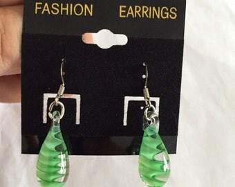 Pretty Glass Bead Earrings!!