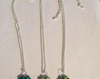 St. Patricks Day Necklace!