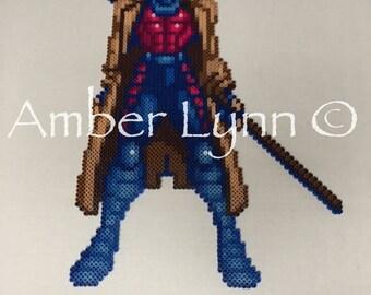 Marvel Gambit X-Men Fusion Bead Design
