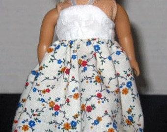 6.5 Inch Doll dress fits Mini Dolls such as American Girl