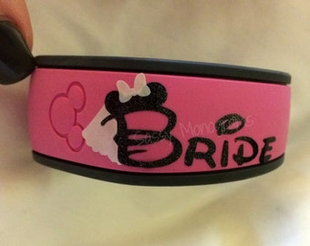 Bride Magic Band Etsy - Magic band vinyl decals