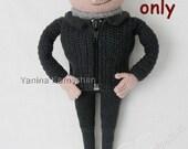 Mister G crochet pattern pdf