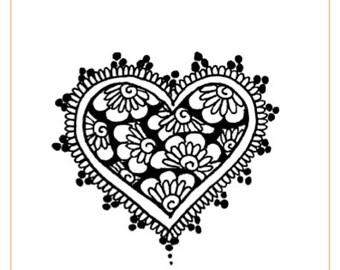Henna Heart eBook - Instant Download