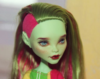 Monster High Venus McFlytrap OOAK Custom Doll Repaint