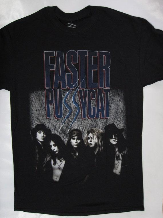 faster pussycat band t shirt t shirt s xxl top notch