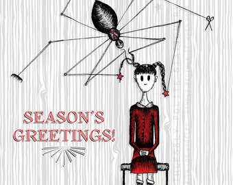 MISS SPIDER'S HOLIDAY //  Holiday Cards