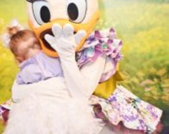 Daisy Duck inspired costume, Daisy Duck costume, Daisy Duck Birthday, Daisy Duck outfit