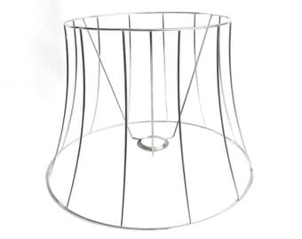 Authentic vintage lampshade wire frame. / lamp shade frame