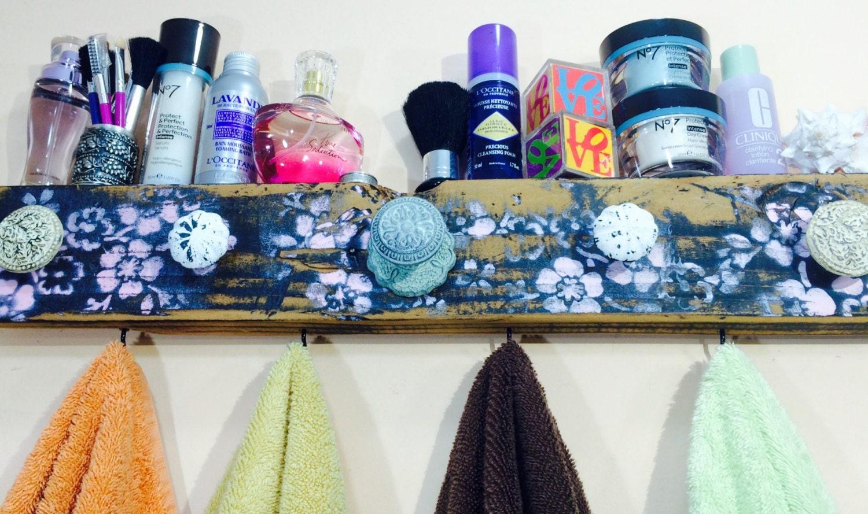 Decorative Bathroom Towel Storage : Towel holder bathroom storage bath hanger decorative