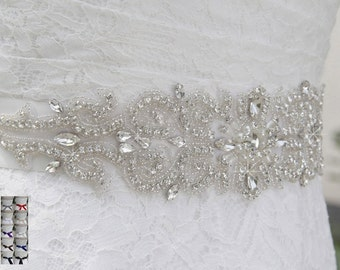Bridal Gown Sash (Multiple Colors Avaliable)