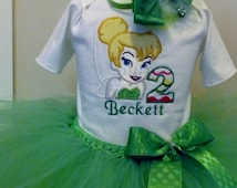 Tinkerbelle Theme Tutu Fairy Birthday Set,