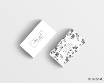 Pre-made business card design - business card template - custom business card design - business card - luxury business card