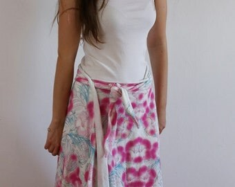 Skirt flower portfolio
