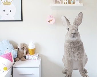 Large Bunny Interior Wall Decal