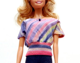 Handmade clothes for Barbie (blouse): Niklam