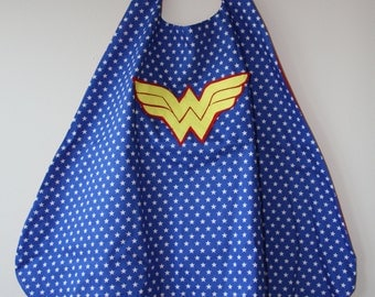 Wonder Woman Cape. Perfect present for the little superhero or Wonder Woman fan in your life!