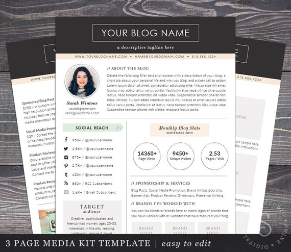 Create a Blog Media Kit