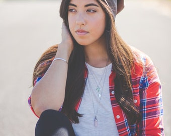 Brown Slouchy Hat