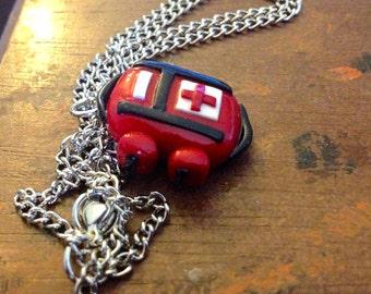Medkit Necklace- inspired by Left4DEAD
