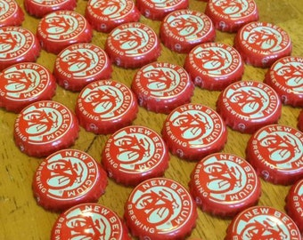 50 New Belgium Bottle Caps