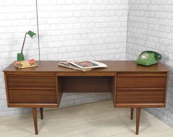 mid century retro vintage Danish teak Austinsuite desk dresser eames era 1950's 1960's