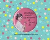 Retro Nurse Syringe, Medical Humor Magnet, Nursing Humor Pin, Nursing Student Gift, Medical Student Gift, Medical 2.25 pin back button badge