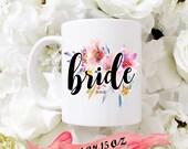 BRIDE Mug with date / Cus...