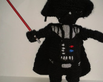 Darth Vader Star Wars figure amigurumi