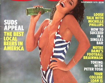 Magazine   Oui  1979  Suds Appeal: Beers   Sexy Girls Michelle Phillips  Peter Tosh  Sexy Tricks  Gorgeous Women  Singles Bar  mature