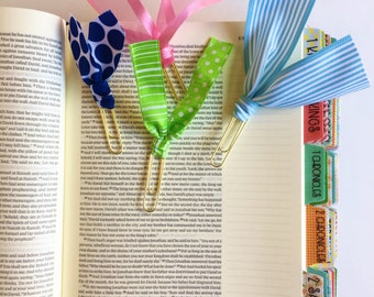 Ribbon Clips for Planners or Journaling Bibles / Planner and Bible Journaling Accessories