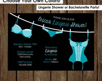 """Bachelorette Party Invitation 