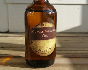 Muscle Massage Oil