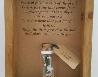 Gift from Scotland. Good luck gift, Scottish, Haggis, Funny, Unusual gift. Personalised.