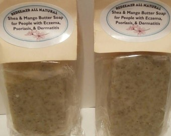 Eczema/Psoriasis Specialty Soap with our Exclusive EO Blend & Soothing Oatmeal (4 to 5 oz)