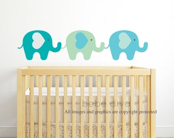 Wall Decals Nursery, Nursery Wall Decal, Jungle Animal, Safari, Wall Decal, Baby Wall Decal, REMOVABLE and REUSABLE