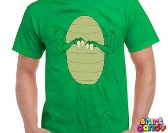 Funny Costume TShirt T-Rex Costume Shirt Halloween Costume Trick Or Treat Shirt Halloween Party Shirt Tyrannosaurus Rex Trex Mens Tee DN-172