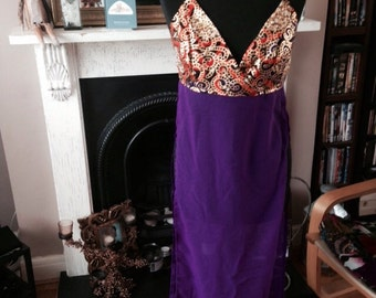 SO London Maxi Halter Top Size 12UK Ready now!
