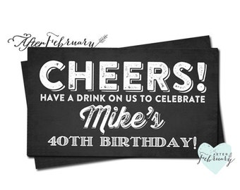 Drink tickets etsy for Complimentary drink ticket template