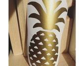 Pineapple Vinyl Decal, Vinyl Stickers, Laptop Decal, Car Sticker, Vinyl Design, Pineapple Sticker