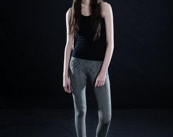 2016 COTTON LYCRA LEGGINGS - Yoga - Leggings - Screen Print - littleKINGDesigns