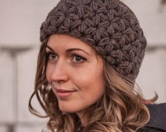 Ear warmer Crochet headband Knit head wrap Braided turban Cozy  christmas gift  Fall hair Band  Winter accessory Loveknittings